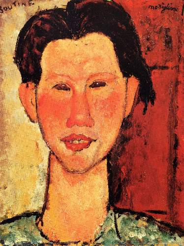 Modigliani - Portrait of Chaiim Soutine [3]